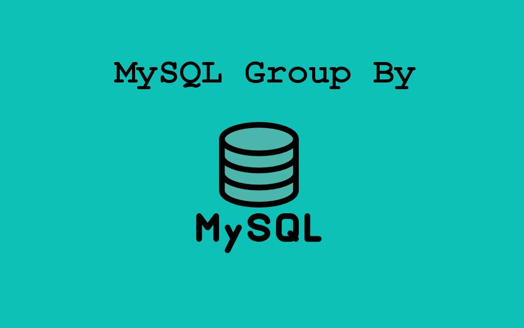 گروه MySQL توسط – PHPGurukul