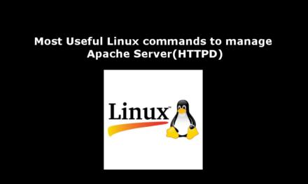 مفیدترین دستورات Linux برای مدیریت Apache Server (HTTPD)